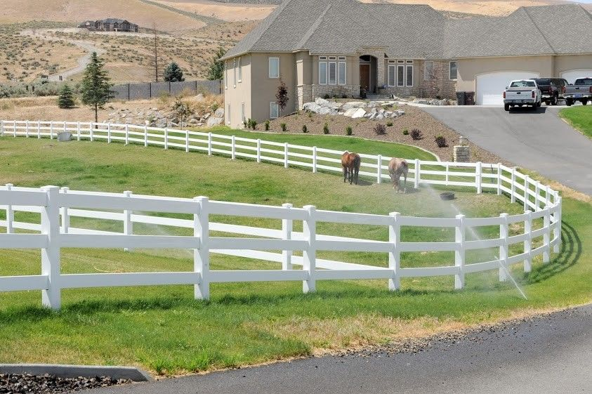 Rick S Custom Fencing And Decking Horse Fence Builder In