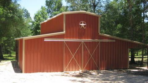 Barn Construction in Houston, Texas (Harris County)