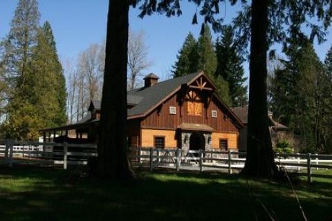 Barn Construction In Oregon