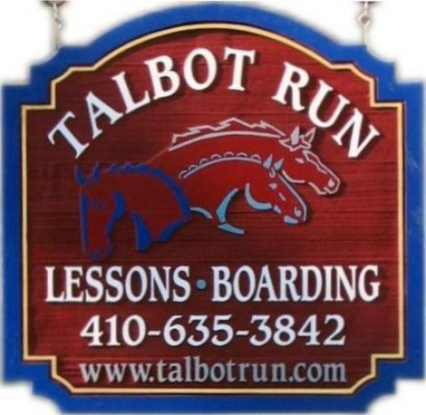 Talbot Run Equestrian Center Riding Instructor In Mount