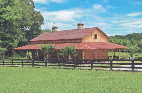 Barn Construction in Winston Salem, North Carolina (Forsyth County)