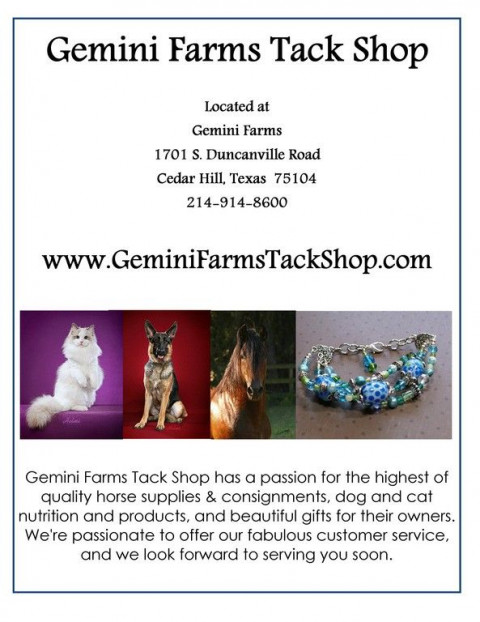 Tack Shops in Fort Worth, Texas (Tarrant County)