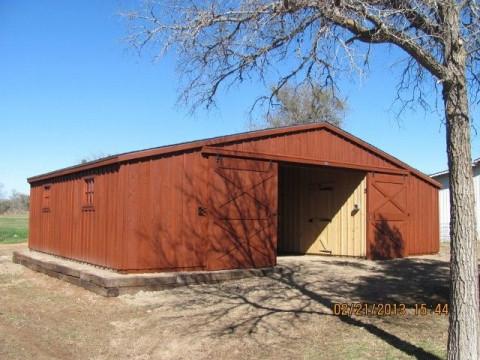 Barn Construction In Waco Texas Mclennan County