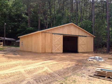 Barn Construction In North Carolina