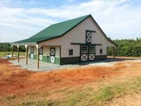 Barn Construction in Bremerton, Washington (Kitsap County)