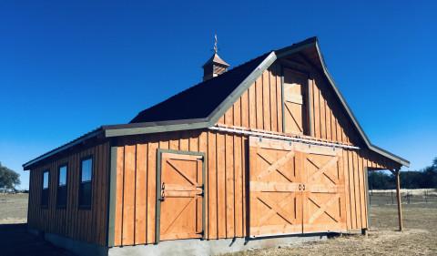 Barn Construction in Killeen, Texas (Bell County)